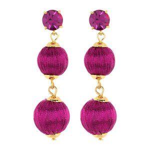 Kate Spade New York Women's Linear Ball Earrings